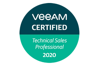 Veeam Certified Technical sales professionnal